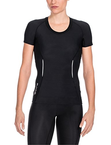 skins-a200-short-sleeve-womens-compression-top-black-black-s