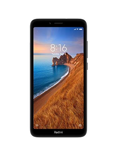 Redmi 7A (Matte Black, 2GB RAM, 32GB Storage)