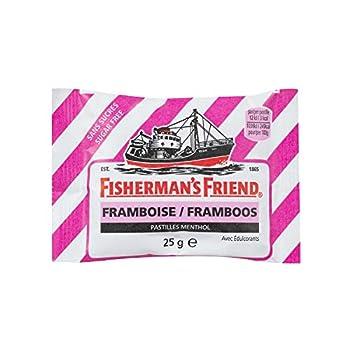 Fisher Man's Friend Confiserie Fruitées Sachet Framboise Sans Sucres 25 g