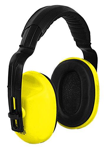 CXS EP106 Gehörschutz Kopfhörer für Kinder und Erwachsene - Ohrenschützer mit Verstellbaren Schaumstoff Kopfbügel für Besten Tragekomfort Kompakte Ohrschutz Kapselgehörschutz Lärmschutz Ohrenschutz
