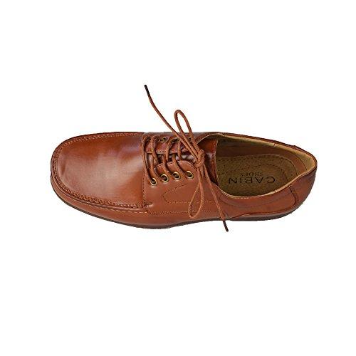 Hommes de faible à lacets Chaussures Taille Homme EU 40–46(UK 6–12) Marron