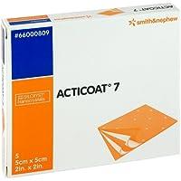 ACTICOAT 7 5x5 cm antimikrob.Wundaufl.7-Tage 5 St Kompressen preisvergleich bei billige-tabletten.eu