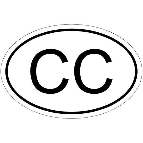 Konsularisches Korps Cc 10 X 6 6cm Autoaufkleber Sticker Aufkleber Kfz Flagge Auto