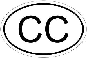 Consular Corps Cc 15 X 10 Cm Car Decal Sticker Car Flag Auto