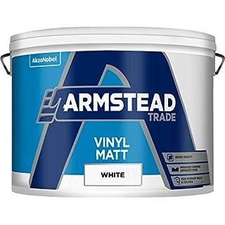 Armstead Trade Vinyl Matt - White 10L