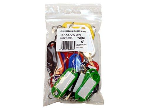 Wedo 2622599 - Pack de 25 llaveros en bolsa