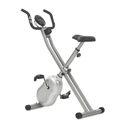 Heimtrainer X-Bike, Silber