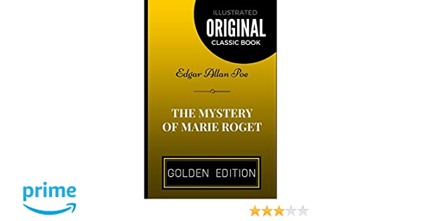 mystery of marie roget sparknotes