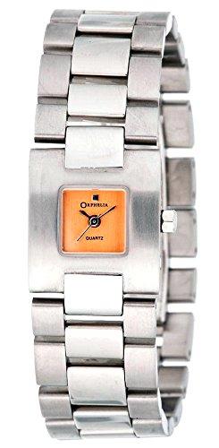 ORPHELIA - 124-2004-68 - Montre Femme - Quartz - Analogique - Bracelet Acier inoxydable Argent