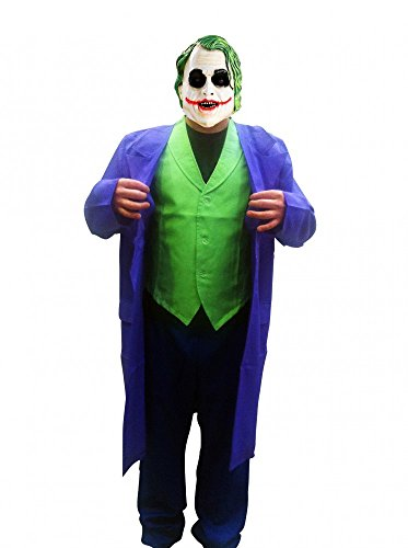 Herren-Kostüm JOKER DELUXE Batman - The Dark Knight, Größe:M