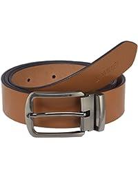 Laurels Hunter Black Color Genuine Leather Men's Belt- LB-HTR-02
