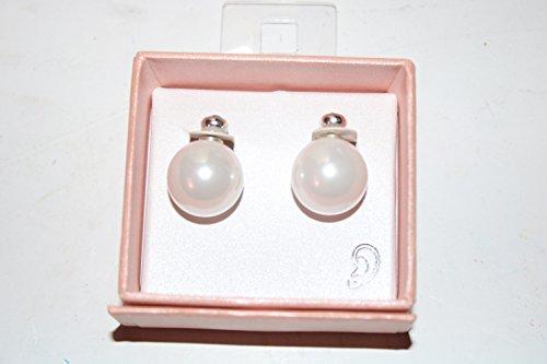 Beeline GmbH Perlenohrringe mit Glitzersteinverschluss Farbe: Perlmutt Ohrringe mit grosser Perle. Damit Sie richtig in Szene gesetzt werden.