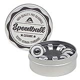 Apollo Kugellager Set Speedball Ceramic, Bearing 2,1x0,7cm für Longboard Skateboard Scooter