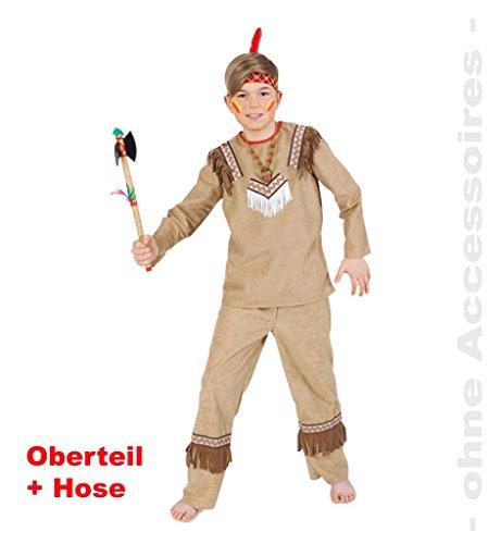 Mardi Indianer Kostüme Gras (Kinder-Kostüm Indianer