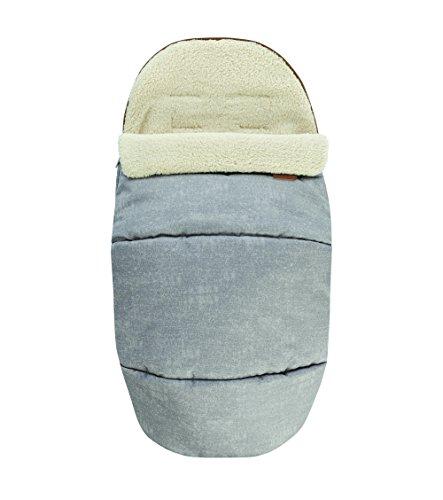 maxi-cosi agradable suave de 2en 1Saco, adecuado para todos los maxi-cosi cochecito gris Nomad Grey