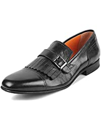 tresmode Men Evening Leather Loafers