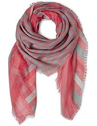 Womens Warm Uni Squared 130 x 130cm Scarf, Grau (Neo Grey 11017), One Size Street One