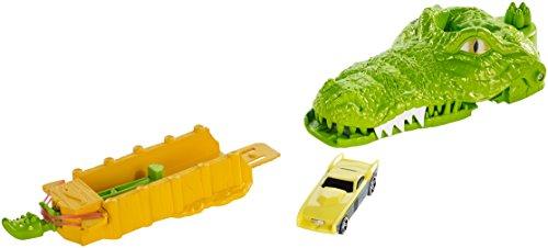 Hot Wheels Crocodile Crunch Track Set