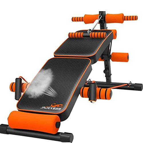 Sit-up board Verstellbare Sitzbank Hantelbank Tragbare Übung Klappbare Bank Fitnesstraining Schrägbank für Ganzkörpertraining