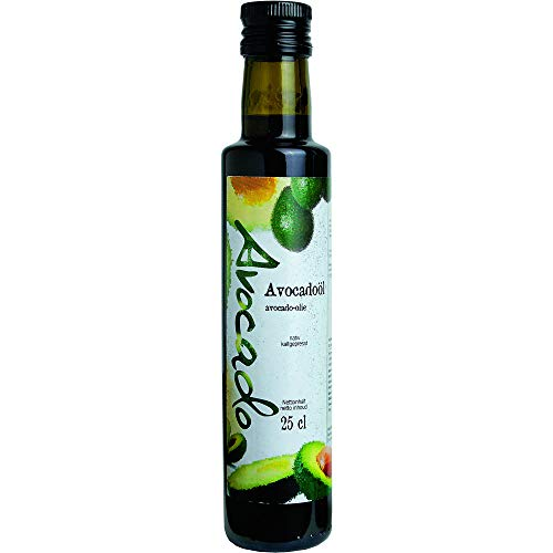 Öl Avocado-Öl nativ 25cl-Fl kaltgepresst vegan BARRIQUE-Feine Manufaktur 250ml-Fl
