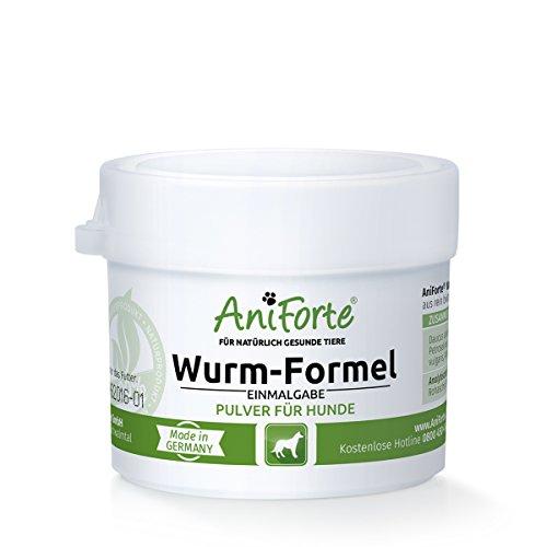 AniForte Wurm-Formel 20 g- Naturprodukt für Hunde