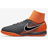 Nike Phantomx 3 Academy DF TF, Chaussures de Fitness Homme, Multicolore (Dark Grey/Total Oran 081), 45 EU