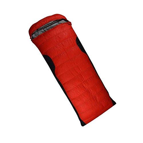 RJ YXX Schlafsack Umschlag Daunenschlafsack Camping Im Freien Multifunktion Professionelles Niveau Schlafsack Wasserdicht Winddicht Anti-kalt, Kaschmir Inhalt 1500 Gramm -