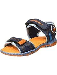 Bubblegummers Unisex Charlie Orange Indian Shoes - 1 UK/India (34 EU)(3618847)