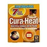 Cura-Heat Back & Shoulder Pain - 7 Heat Packs by Cura-heat