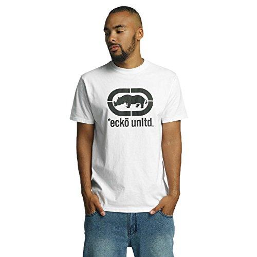 Ecko Unltd. John Rhino T-Shirt White/Black Weiß