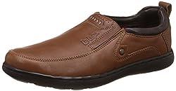 Lee Cooper Mens Brown V1 Leather Loafers - 11 UK/India (45 EU)