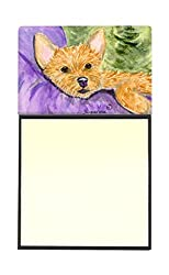 Carolines Treasures SS8898SN Norwich Terrier Refillable Sticky Note Holder or Postit Note Dispenser, 3.25 by 5.5, Multicolor