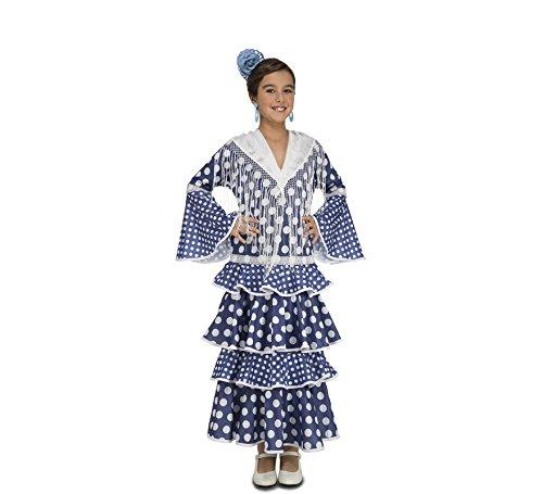 My Other Me – Disfraz de flamenca alvero para niña, color azul (Viving Costumes)