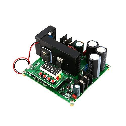 900w900W Leistungsmodul Digitaler DC-DC-Ausgang 10-120V 15A Aufwärtsleistungsmodul Aufwärtswandler-Leistungsmodul - Grün -