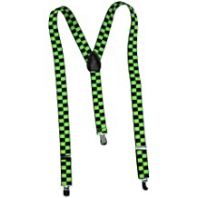 Hosenträger FASHION BRACES green checker