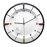 Reloj de pared - moda/hogar/oficina/color/silencio/negro