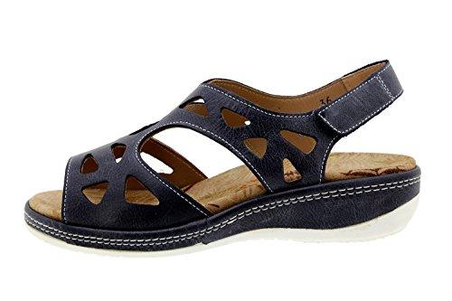 Scarpe donna comfort pelle Piesanto 8905 sandali soletta estraibile comfort larghezza speciale