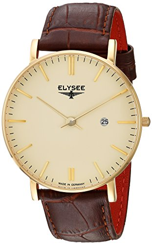 Elysee Mens Watch Classic Zelos 98003