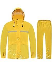 JXJJD Raincoat Rain Pants Suit Adult Men And Women Split Anti-storm Raincoat Diving & Snorkelling Water Sports