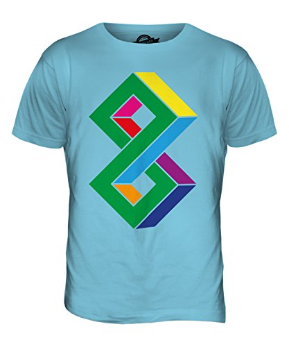 CandyMix Unmögliche Herren T Shirt Himmelblau