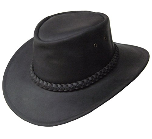 Modestone Braided Hatband Aussie Style Leather Cowboy-Hut M (Aussie Outback-hut Style)