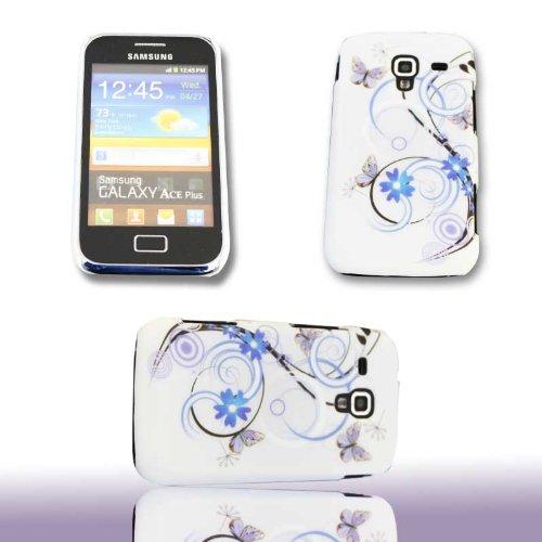 Handy Tasche Hard Case Cover für Samsung Galaxy Ace Plus GT-S7500 / Design 09 Handytasche Schutzhülle