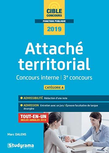 Attaché territorial : Concours interne et 3e voie par  (Broché - Feb 12, 2019)