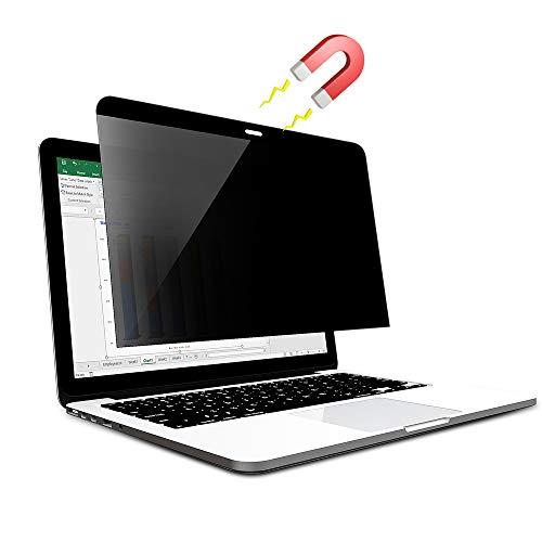 Yivin - Magnetisch Blickschutzfilter, Privatsphäre und Anti-Glanz Blickschutz Folie für MacBook Pro...
