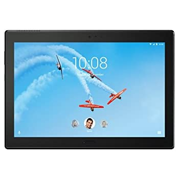 Lenovo Tab4 10 Plus ZA2M0032DE 25,65 cm (10,1 Zoll Full HD IPS Touch) Tablet-PC (Qualcomm Snapdragon APQ8053, 3GB RAM,16GB eMCP, Wi-Fi) Schwarz