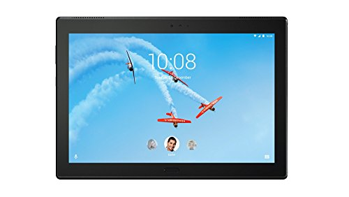 Lenovo Tab4 10 Plus 25,5 cm (10,1 Zoll Full HD IPS Touch) Tablet-PC (Qualcomm Snapdragon APQ8053 Octa-Core, 4GB RAM, 64GB eMCP, Android 7.1.1) schwarz