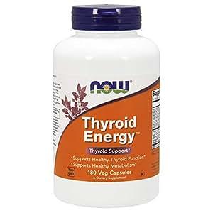 Now Foods, Thyroid Energy, 180 Vcaps
