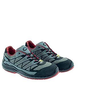 Aboutblu 5034902LA S1P ESD SRC, Estoril Low, Safety Shoe with Anatomical Shape, Unisex, Grey, Leather, Size 49