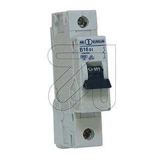 Leitungsschutzschalter 1-polig, B, 16A, 6kA, 230/400V AC, S-Reihe