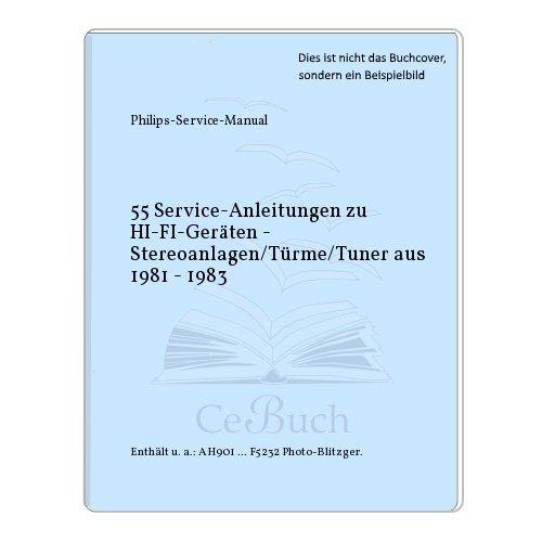 55 Service-Anleitungen zu HI-FI-Geräten - Stereoanlagen/Türme/Tuner aus 1981 - 1983 Tuner Service Manual